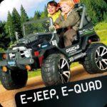 E-jeep. e-quad