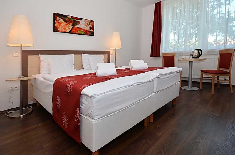 Superior rooms for two persons